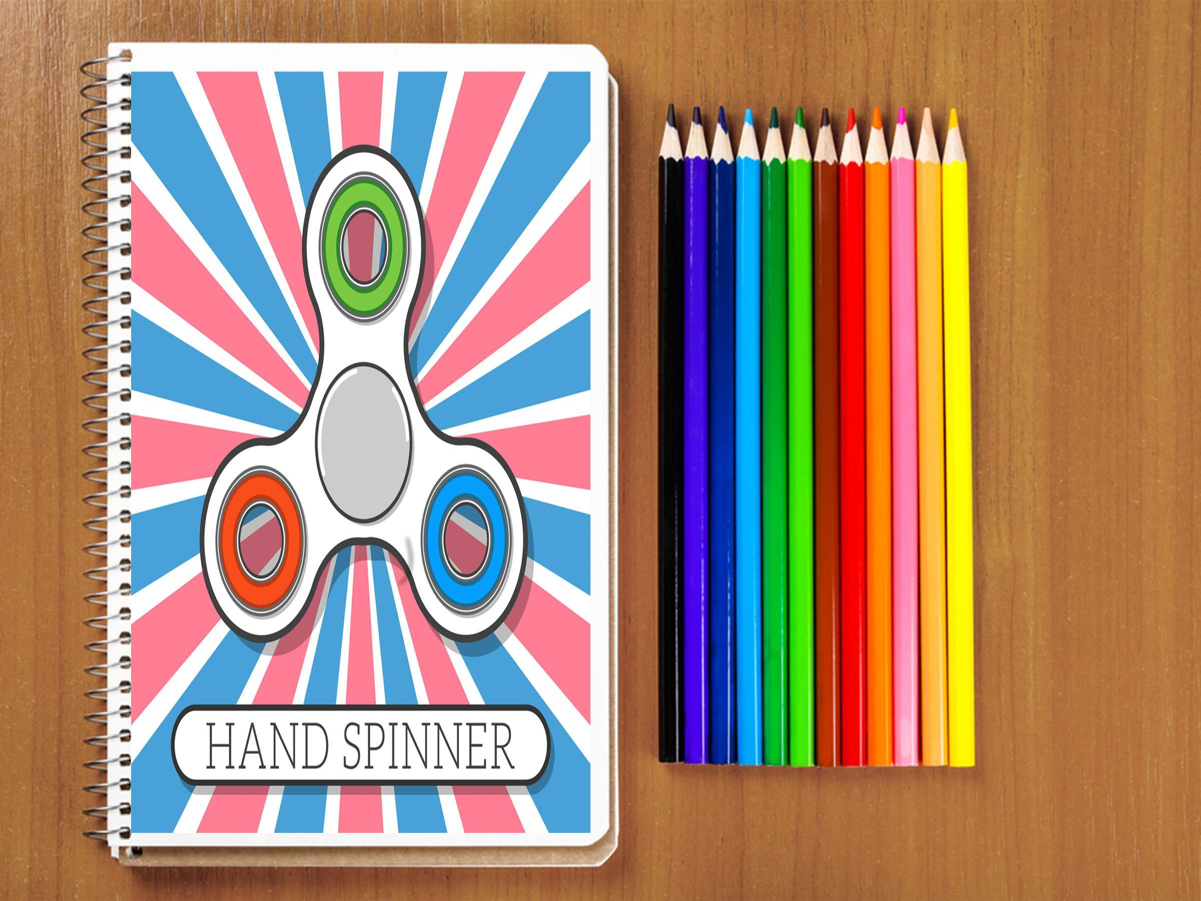 Fidget Spinner Coloring Book Pages for Android - APK Download