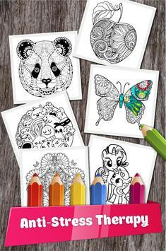 Draw Mandala Coloring Pages screenshot 2