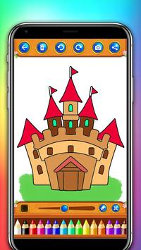castle coloring and drawing book screenshot 7