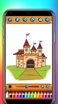castle coloring and drawing book screenshot 9