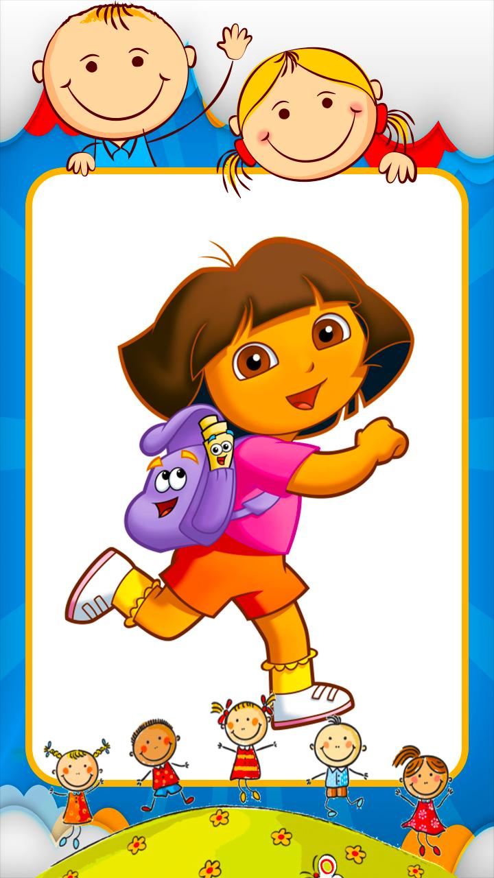 Coloring Dora games for Android - APK Download