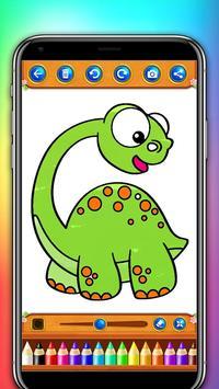 dinosaur coloring and drawing book screenshot 1