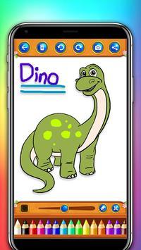 dinosaur coloring and drawing book screenshot 2