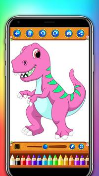 dinosaur coloring and drawing book screenshot 7