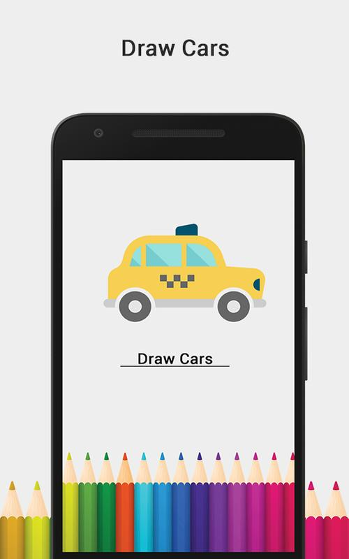 Draw Cars Coloring Book For Android Apk Download