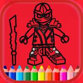 Ninjago Coloring Book icon
