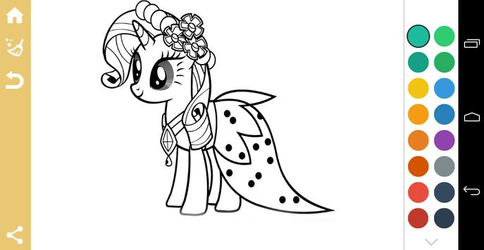 Coloring Book of Little Pony screenshot 1