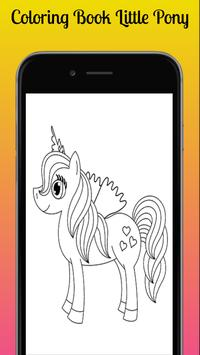 Coloring Book of Little Pony screenshot 2