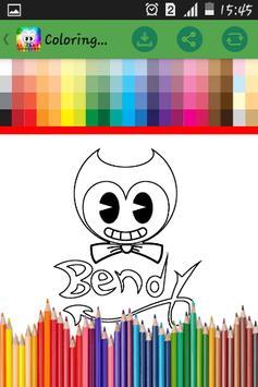 Bendy Coloring 2017 apk screenshot