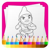 Coloring For Gnome Garden Fans icon