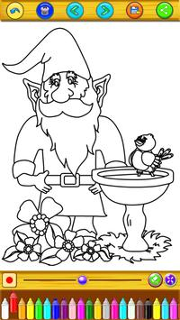 Coloring For Gnome Garden Fans screenshot 3