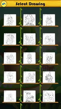 Coloring For Gnome Garden Fans screenshot 6