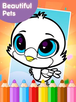 Coloring Book Little Pet Shop screenshot 11