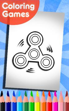 Fidget spinner coloring pages for kids (New) for Android ...