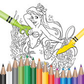 Coloring book for kids🖌️🎨 icon