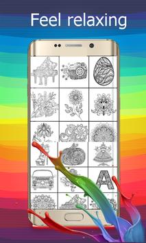 Coloring games for adults screenshot 1