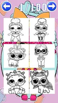 coloring dolls princess surprise for fan screenshot 6