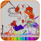 Superhero For Coloring Book & Pages Kids icon