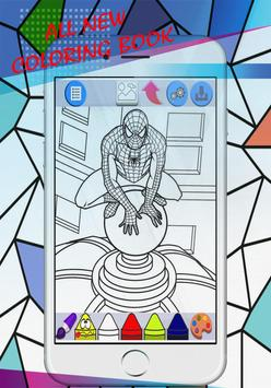 Superhero For Coloring Book & Pages Kids screenshot 1