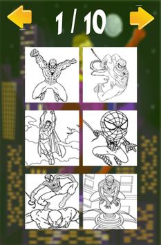 Superhero For Coloring Book & Pages Kids screenshot 3