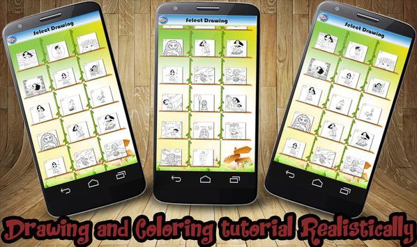 Coloring Book Moana apk screenshot