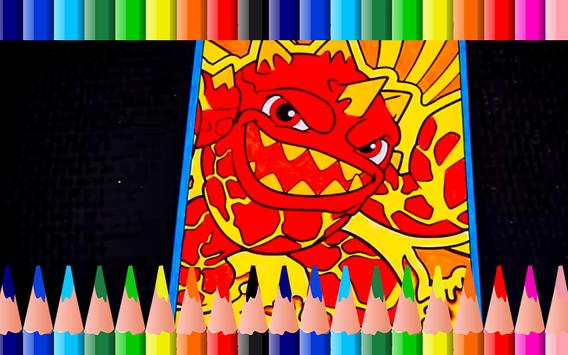 Coloring book for skylanders fans 2018 apk Coloring book 2018 apk