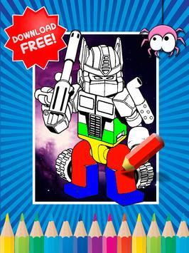 Coloring Book For Transformers poster