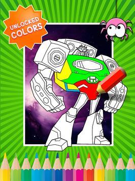 Coloring Book For Transformers screenshot 1