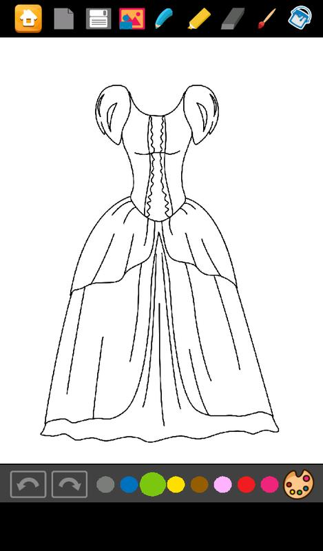 Dresses Princess Coloring For Android Apk Download