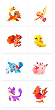 PokeArt - Pokemon Pixel Art Coloring by Number poster