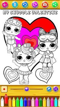 coloring Surprise Dolls of Lol princess screenshot 3