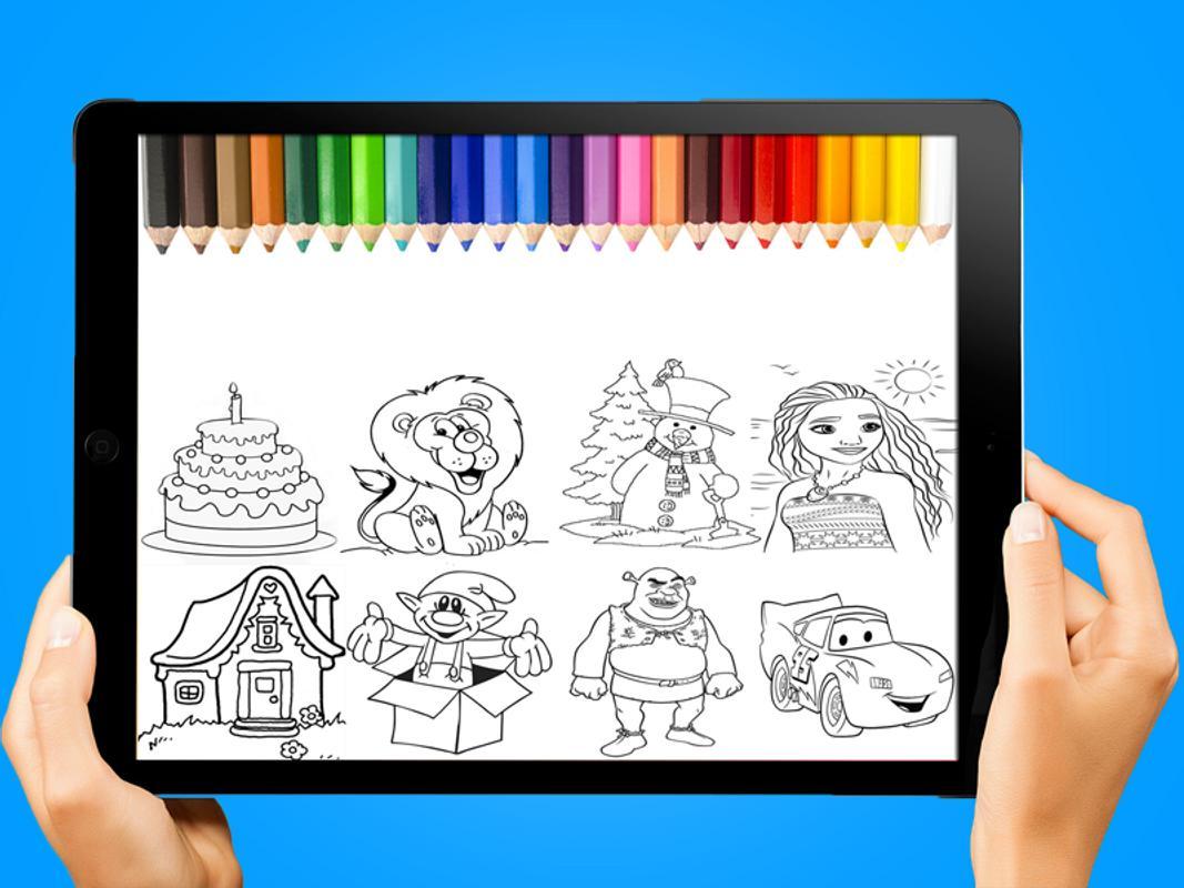 páginas para colorear para niños for Android - APK Download