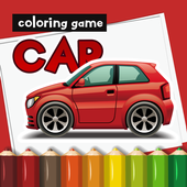 Kids Car Colors - Boy and Girl car coloring games icon
