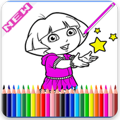 ColoringPages for Doraa Fans icon