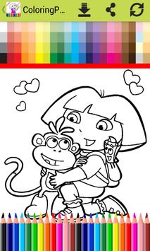 ColoringPages for Doraa Fans screenshot 3