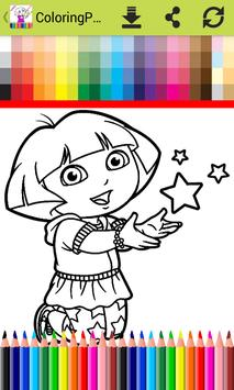 ColoringPages for Doraa Fans screenshot 1