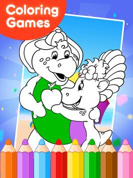 Coloring Games for Borney poster