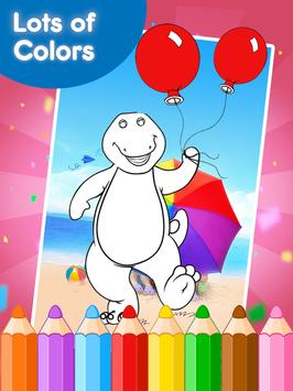 Coloring Games for Borney screenshot 2