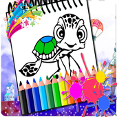 Coloring Art For Turtles icon