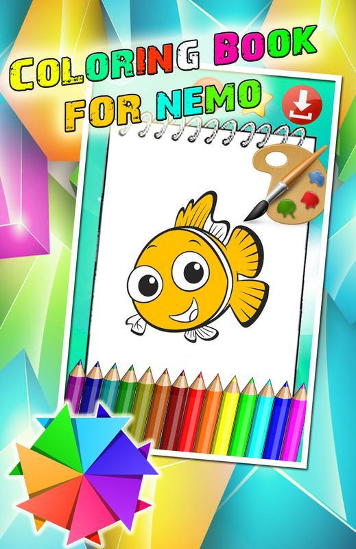 Buku Digital Mewarnai Nemo For Android Apk Download