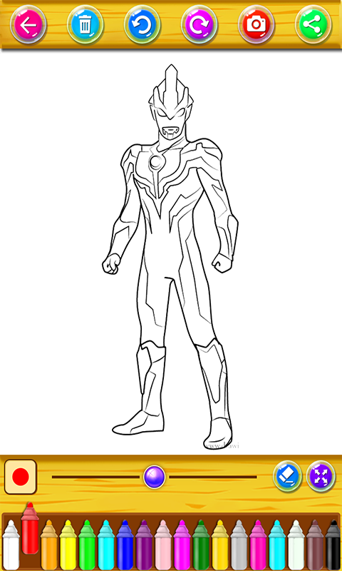 Ultraman Ginga Coloring For Android Apk Download