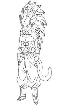 Coloring Anime Dragon DBS screenshot 10