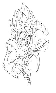 Coloring Anime Dragon DBS screenshot 11