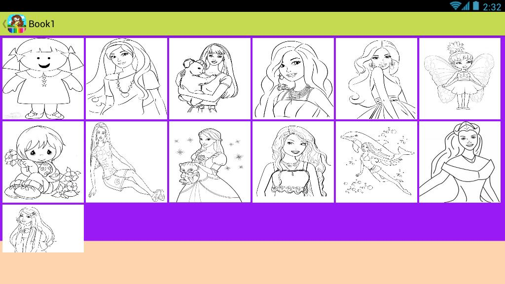 Coloriage Barbie For Android Apk Download
