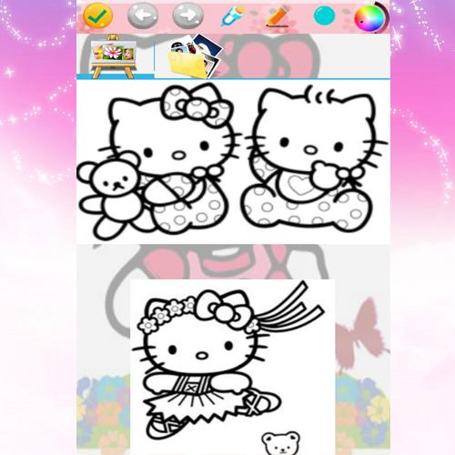 Coloriage Enfants Coloriage Hello Kitty 2018 For Android Apk Download