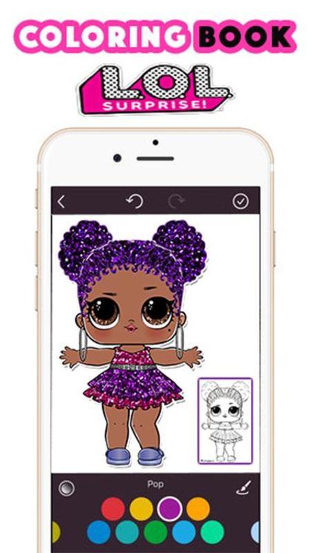 Livre De Coloriage Lol Surprise Baby Dolls For Android Apk Download