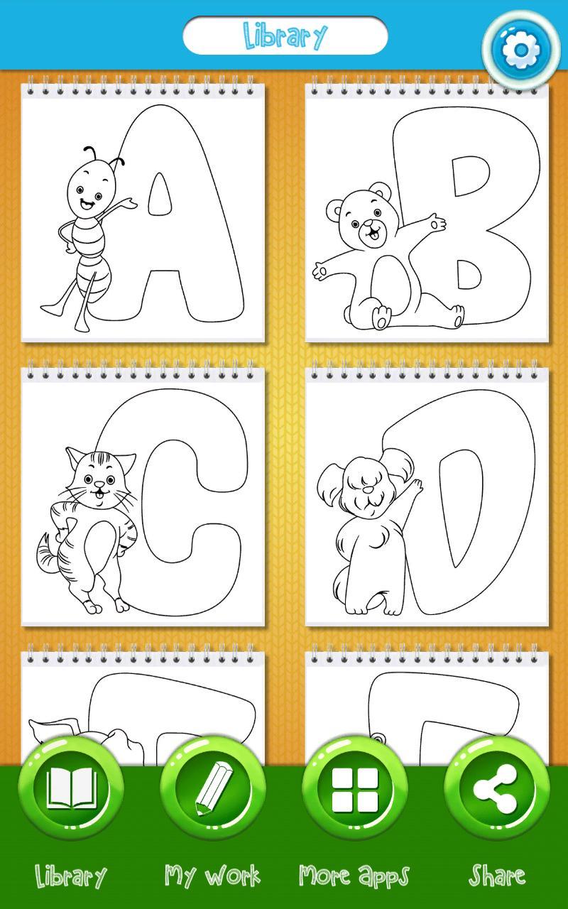Abc Ausmalbilder Für Android Apk Herunterladen