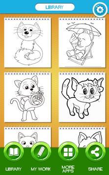 Cat Coloring Pages apk screenshot