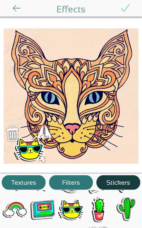 Coloriage Chat Pour Adulte Pour Android Téléchargez Lapk