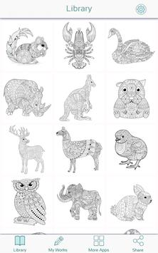 Animal Coloring Book Pages apk screenshot
